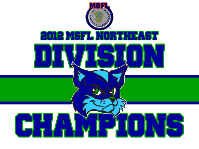 The Springfield Foxes are the 2012 NE Division Champs of the MSFL!
