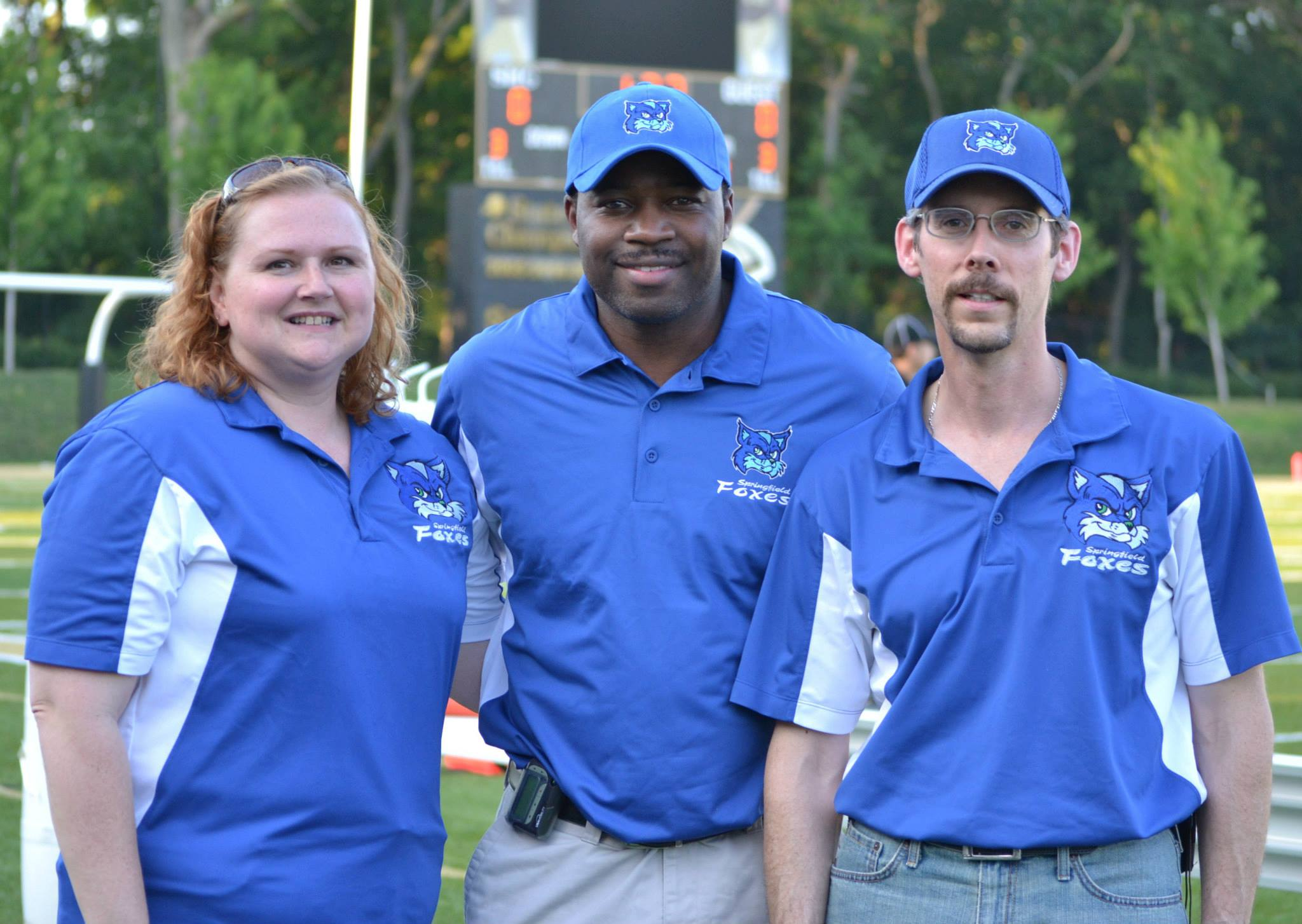 Orthopedic Surgeon Dr. Saadiq El-Amin, M.D. (middle) has joined the Foxes Healthcare / Training staff for the 2013 season.