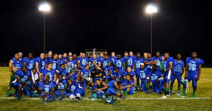The Springfield Foxes team photo after they melted some Steel on 7-14-12.