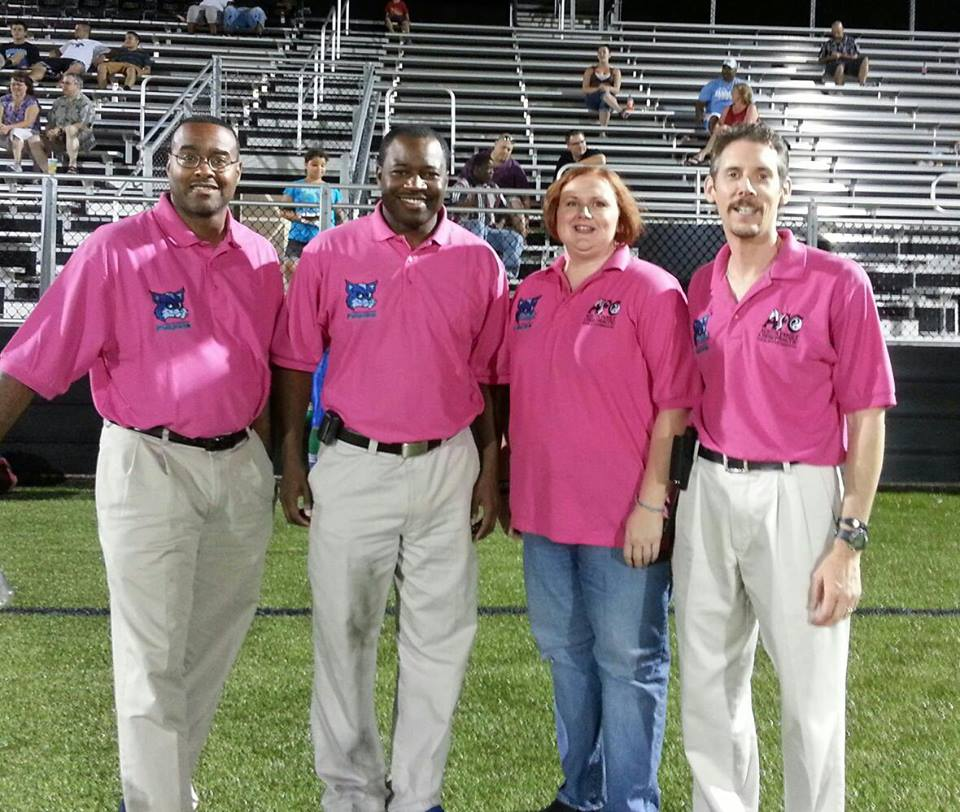 2013 Springfield Foxes Healthcare & Training Staff:  Dr. Becton, Dr. El-Amin, massage therapist Eugena, Dr. Todd