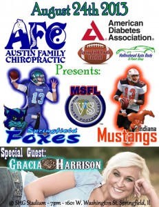 Gracia Night at SHG sponsored by Austin Family Chiro