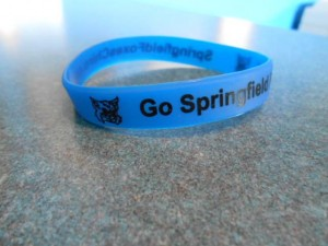 SpringfieldFoxesChiro.com silicone wristbands courtesy of Austin Family Chiro